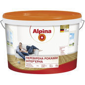 Интерьерная краска Alpina надежная 10 л