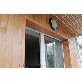 Установка балконних блоків