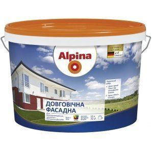 Фасадная краска Alpina долговечная 2,5 л
