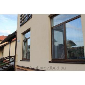 Москитная сетка на окна коричневая