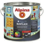 Эмаль Alpina Aqua Buntlack 2,5 л