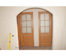 Установка дверных откосов