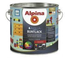 Емаль Alpina Aqua Buntlack 2,5 л