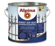 Эмаль Alpina Direkt auf Rost Hammerschlageffekt 0,75 л