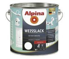 Эмаль Alpina Weisslack 2,5 л