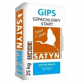 Шипс шпаклевочный SATYN PW-01 Старт 25 кг белая