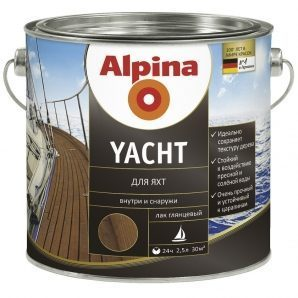Лак Alpina Yacht 0,75 л