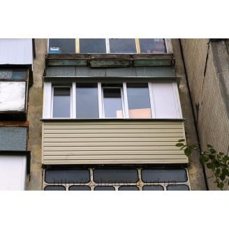 Наружная обшивка балкона сайдингом