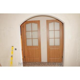 Установка дверних укосів