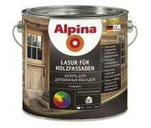 Лазурь Alpina Lasur fur Holzfassaden 10 л
