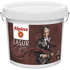 Лазур Alpina Lasur Effekt Base 2,5 л