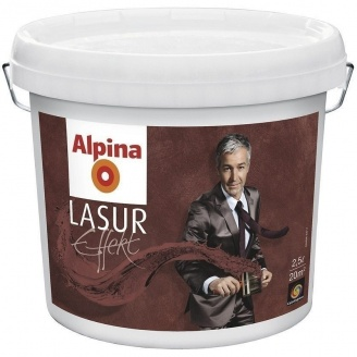 Лазурь Alpina Lasur Effekt Base 2,5 л