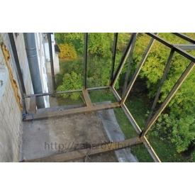 Винос балкона по підлозі