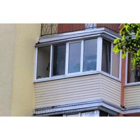 Балкон під ключ в новобудові