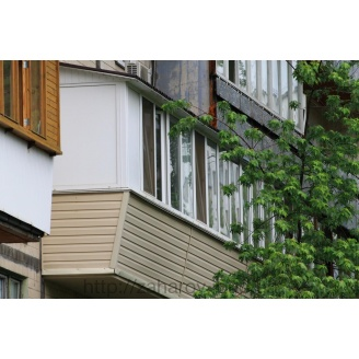 Ремонт балкона под ключ в чешке