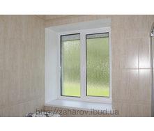 Монтаж откосов из влагостойкого гипсокартона на окно 1,250х1,460х170 мм