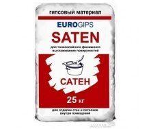 Финишная шпаклевка EUROGIPS Saten 25 кг белая