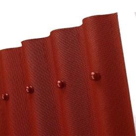Еврошифер Onduline 2000х950х3 мм красный