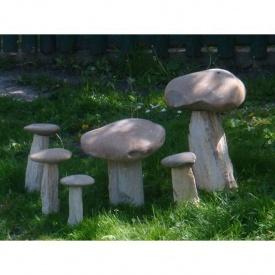 Декоративна композиція Гриби із природного каменю