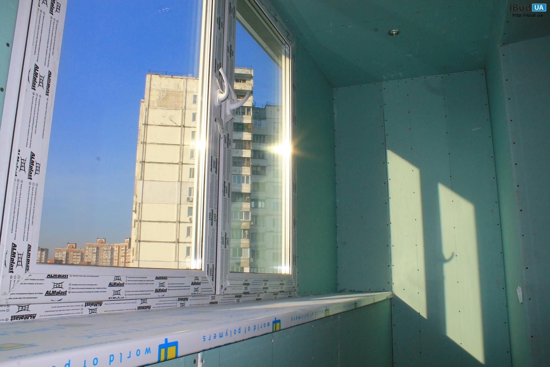 Балкони під ключ в Києві