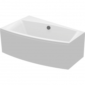 Ванна асиметрична з кріпленням ліва Cersanit VIRGO 150х90 см (S301-072)