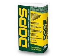 Клей для газобетонных блоков Полипласт Dops 25 кг