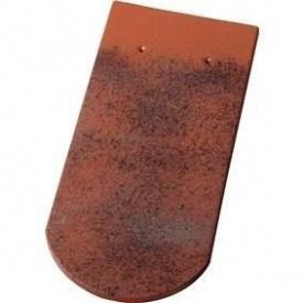 Рядова черепиця Koramic Biber Карпівка (Langenzenn) Антик керамічний мох