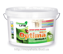 Интерьерная краска Optima VD-Klasik 1 10 л