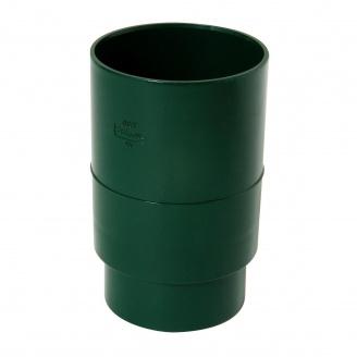 Муфта водостічної труби Nicoll зелений