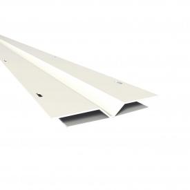 Фінішний профіль Н-подібний Nicoll BELRIV 4 м білий