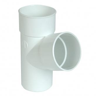 Трійник Nicoll 33 100 мм білий