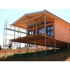 Будівництво пальово-гвинтового фундаменту для будинків з дерева