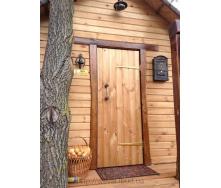Детский домик деревянный