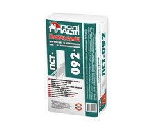 Клеевая смесь Полипласт ПСТ-092 для монтажа и шпаклевания пено- и газобетонных блоков 25 кг