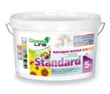 Фасадная краска Standard на основе модифицированных водных дисперсий синтетических полимеров