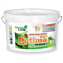 Интерьерная краска Optima VD-Klasik 1 для стен и потолков
