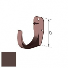 Держатель желоба Gamrat 100 мм коричневый