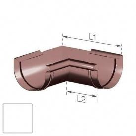 Внутрішній кут Gamrat 150 мм білий