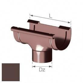 Зливна воронка Gamrat 125/90 мм коричнева