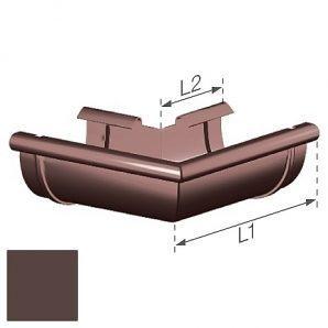 Зовнішній кут Gamrat 150 мм коричневий