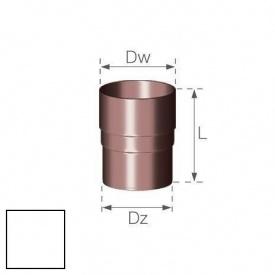 Кільцевий ніпель Gamrat 90 мм білий