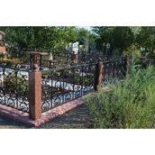 Ограда кованая ритуальная