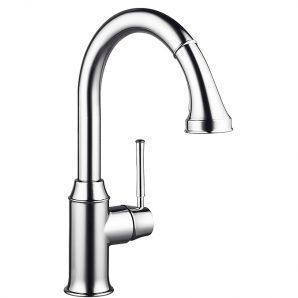 Змішувач для кухні Hansgrohe Talis Classic одноважільний з висувним душем 1/2 дюйма (14863000)