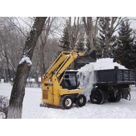 Вивезення снігу з навантаженням