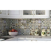 Плитка для кухни Monopole Ceramica Antique 100x200 мм