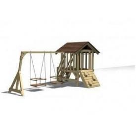 Дерев'яна дитяча площадка MINI 7 300x300х150 см