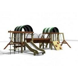 Дерев'яна дитяча площадка STANDART 4 430x640х205 см