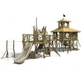 Дерев'яний дитячий майданчик Classic 8 430x1330х470 см