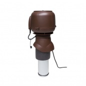 Вентилятор VILPE E120 P 125х400 мм коричневий