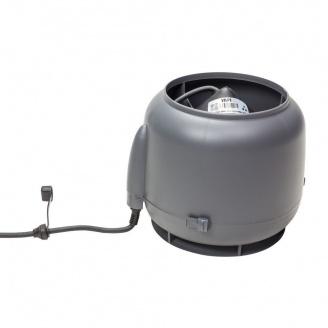 Вентилятор VILPE E120 S 125 мм серый